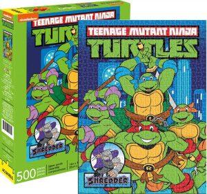 Los mejores puzzles de las tortugas ninja - Puzzle de las tortugas Ninja Teen de 500 piezas de Aquarius
