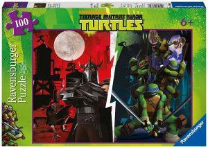 Los mejores puzzles de las tortugas ninja - Puzzle de las tortugas Ninja de 100 piezas de Ravensburger