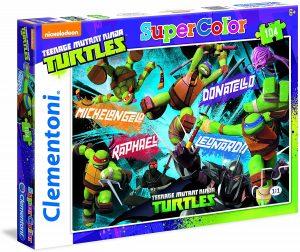 Los mejores puzzles de las tortugas ninja - Puzzle de las tortugas Ninja de 104 piezas de Clementoni