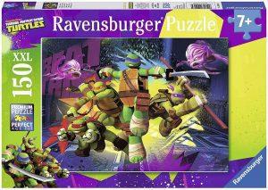 Los mejores puzzles de las tortugas ninja - Puzzle de las tortugas Ninja de 150 piezas de Ravensburger