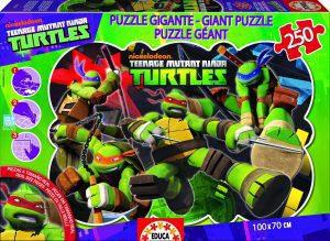 Los mejores puzzles de las tortugas ninja - Puzzle de las tortugas Ninja de 250 piezas de Educa