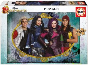 Los mejores puzzles de los Descendientes - Puzzles de The Descendants - Puzzle de los Descendientes de Disney de 300 piezas de Educa
