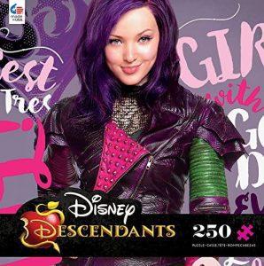 Los mejores puzzles de los Descendientes - Puzzles de The Descendants - Puzzle de los Descendientes de Disney de Mal de 250 piezas de Ceaco