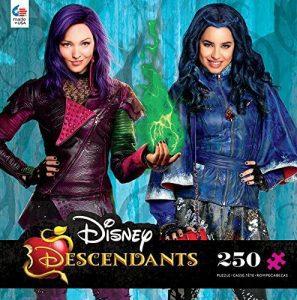 Los mejores puzzles de los Descendientes - Puzzles de The Descendants - Puzzle de los Descendientes de Disney de Mal y Evie de 250 piezas de Ceaco