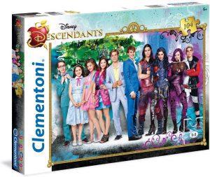 Los mejores puzzles de los Descendientes - Puzzles de The Descendants - Puzzle de personajes de los Descendientes de Disney de 104 piezas de Clementoni