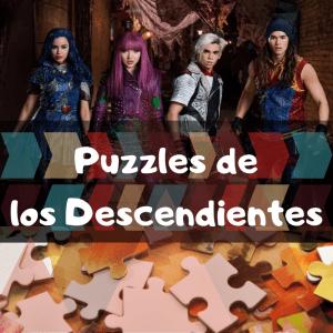 Los mejores puzzles de los Descendientes - Puzzles de los Descendientes - Puzzle de The Descendants