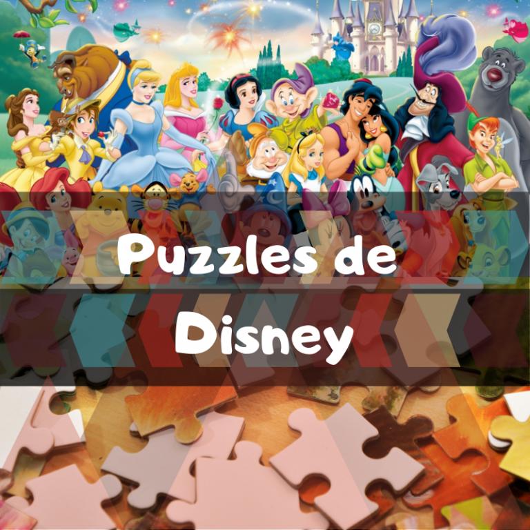 Los mejores puzzles de personajes de Disney
