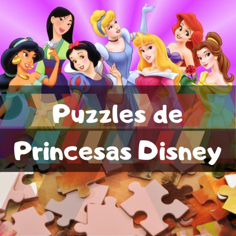 Los mejores puzzles de princesas de Disney
