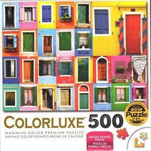 Los mejores puzzles de puertas - Doors - Puzzle de Puertas de Colorluxe de 500 piezas