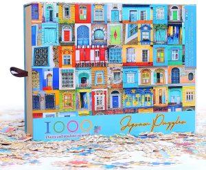 Los mejores puzzles de puertas - Doors - Puzzle de Puertas de Ingooood de 1000 piezas