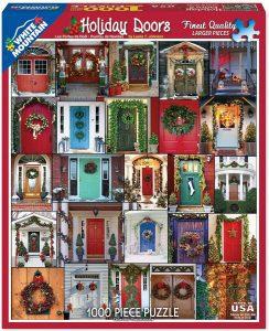 Los mejores puzzles de puertas - Doors - Puzzle de Puertas de Navidad de White Mountain Puzzles de 1000 piezas