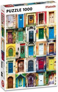 Los mejores puzzles de puertas - Doors - Puzzle de Puertas de Piatnik de 1000 piezas