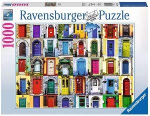 Los mejores puzzles de puertas - Doors - Puzzle de Puertas de Ravensburger de 1000 piezas