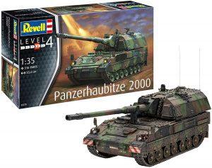 Los mejores puzzles de tanques - Puzzle de tanque Panzerhaubitze de 316 piezas en 3D de Revell