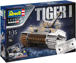 Los mejores puzzles de tanques - Puzzle de tanque Tiger de 335 piezas en 3D