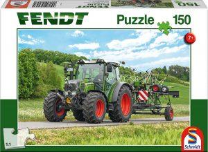 Los mejores puzzles de tractores - Puzzle de tractor con herramientas de 150 piezas de Schmidt