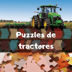 Los mejores puzzles de tractores - Puzzles de tractores de John Deere - Puzzle de tractor