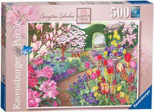 Los mejores puzzles de tulipanes - Puzzle de tulipanes de 500 piezas de Ravensburger
