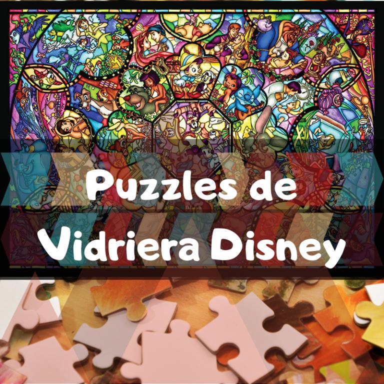 Los mejores puzzles de vidrieras Disney