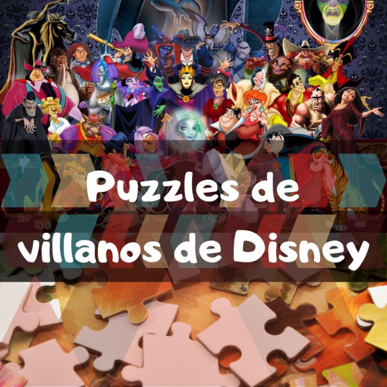 Los mejores puzzles de villanos de Disney