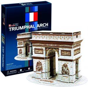 Los mejores puzzles del Arco del Triunfo - Puzzle del Arco del Triunfo en 3D de CubicFun