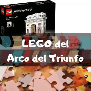 Los mejores puzzles del Arco del Triunfo de París - LEGO de la Estatua del Arco del Triunfo