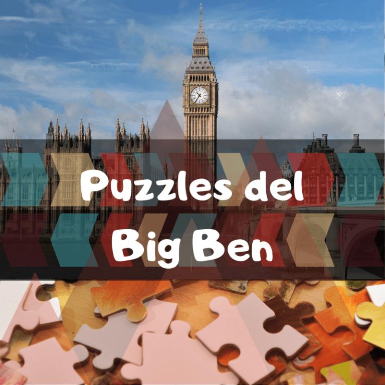 Los mejores puzzles del Big Ben de Londres