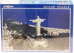Los mejores puzzles del Cristo Redentor de Brasil - Puzzle de Cristo Redentor de Río de Janeiro clásico de 1000 piezas de Toys Bro