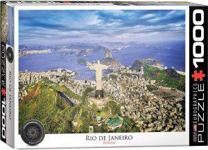 Los mejores puzzles del Cristo Redentor de Brasil - Puzzle de Cristo Redentor de Río de Janeiro de 1000 piezas de Eurographics