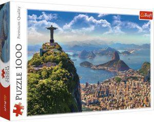 Los mejores puzzles del Cristo Redentor de Brasil - Puzzle de Cristo Redentor de Río de Janeiro de 1000 piezas de Trefl