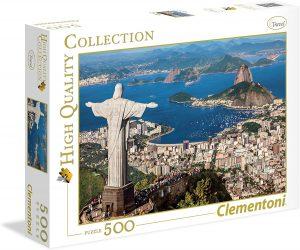 Los mejores puzzles del Cristo Redentor de Brasil - Puzzle de Cristo Redentor de Río de Janeiro de 500 piezas de Clementoni