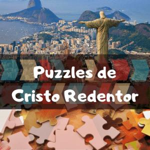 Los mejores puzzles del Cristo Redentor en Brasil - Puzzles de monumentos