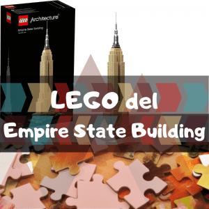 Los mejores puzzles del Empire State Building de Nueva York - LEGO del Empire State Building