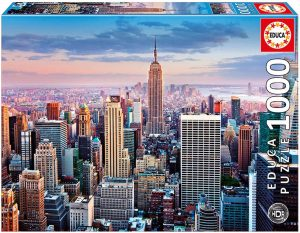 Los mejores puzzles del Empire State Building de Nueva York - Puzzle del Empire State Building de 1000 piezas de Educa