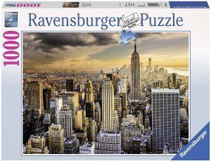 Los mejores puzzles del Empire State Building de Nueva York - Puzzle del Empire State Building de 1000 piezas de Ravensburger