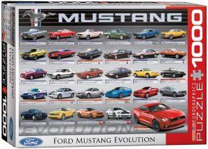 Los mejores puzzles del Ford Mustang - Puzzle de Ford Mustang Evolution de 1000 piezas de Eurographics