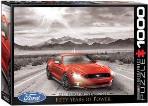Los mejores puzzles del Ford Mustang - Puzzle de Ford Mustang GT de 1000 piezas de Eurographics
