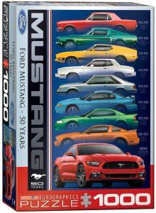 Los mejores puzzles del Ford Mustang - Puzzle de Ford Mustang de 50 años de 1000 piezas de Eurographics