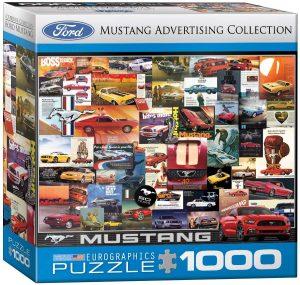Los mejores puzzles del Ford Mustang - Puzzle de Ford Mustang de publicidad de 1000 piezas de Eurographics