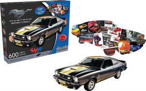 Los mejores puzzles del Ford Mustang - Puzzle de Ford Mustang y Cobra 2 de 600 piezas de Aquarius