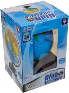 Los mejores puzzles del Globo Terráqueo en 3D - Puzzles de la bola de mundo en 3D - Puzzle del Globo Terráqueo en 3D con Atlas