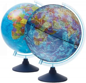 Los mejores puzzles del Globo Terráqueo en 3D - Puzzles de la bola de mundo en 3D - Puzzle del Globo Terráqueo en 3D de día y noche