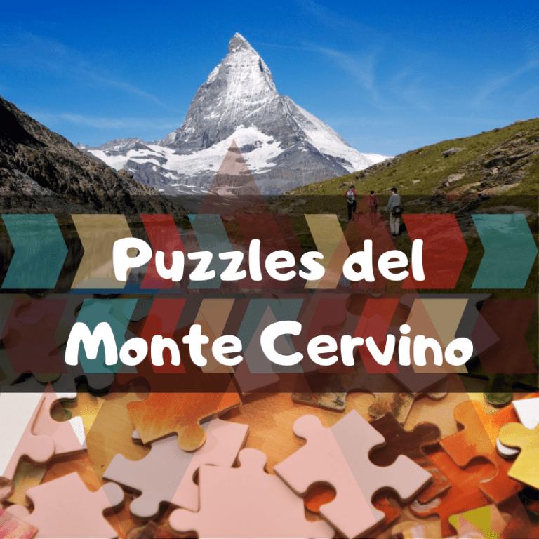 Los mejores puzzles del Monte Cervino