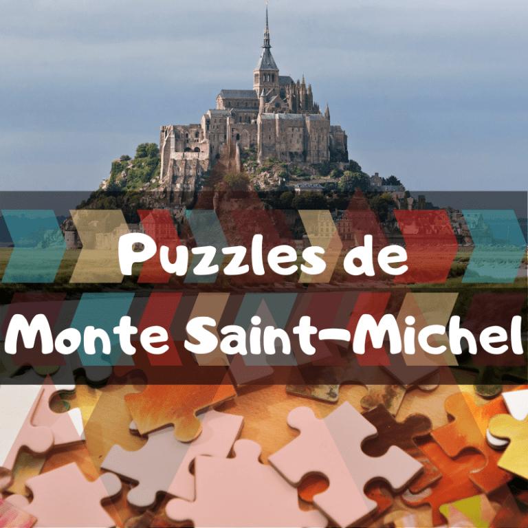 Los mejores puzzles del Monte Saint-Michel