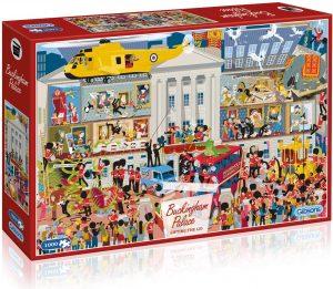 Los mejores puzzles del Palacio de Buckingham - Puzzle del Buckingham Palace Party de 1000 piezas de Gibsons