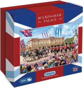 Los mejores puzzles del Palacio de Buckingham - Puzzle del Buckingham Palace de 500 piezas de Gibsons