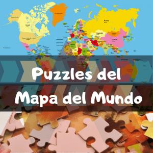Los mejores puzzles del mapa del mundo - Puzzles de Mapamundi