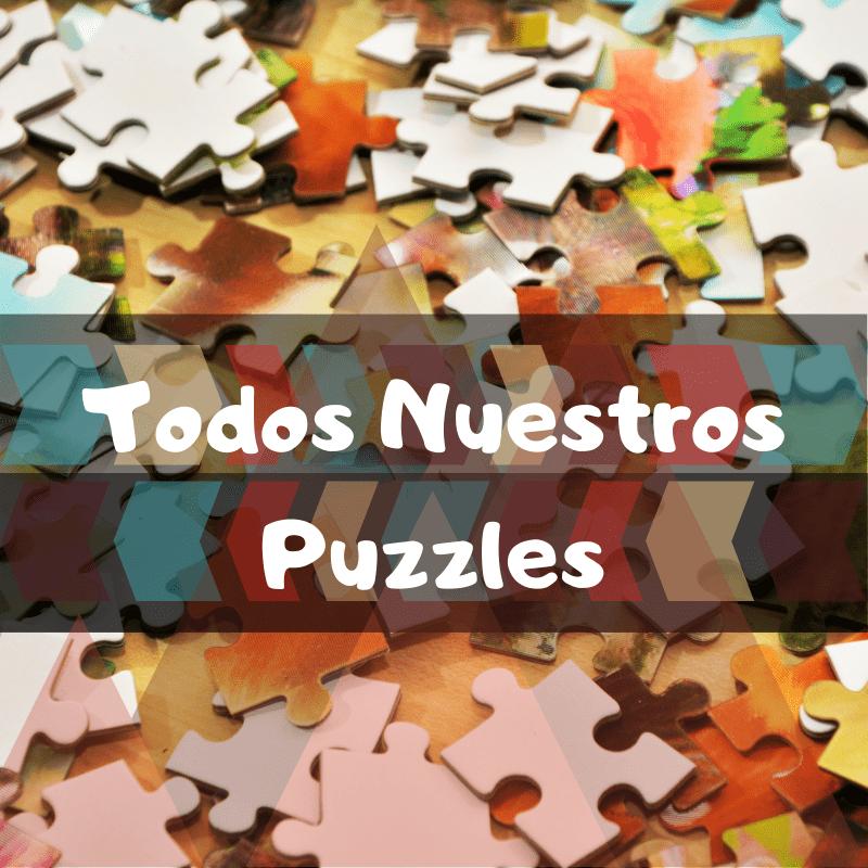 Los mejores puzzles del mundo - Guía de puzzles por categorías - Puzzles de todo