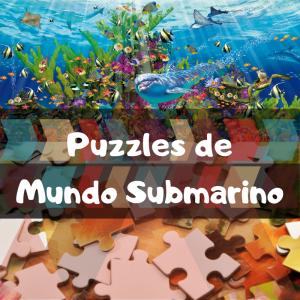 Los mejores puzzles del mundo submarino - Puzzles de animales bajo el mar - Puzzle de Vida bajo el agua