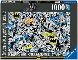 Puzzle de Challenge de Batman de 1000 piezas de Ravensburger - Los mejores puzzles de Challenge